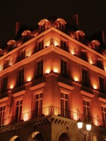 Hotel near the Louvre in Paris, France.